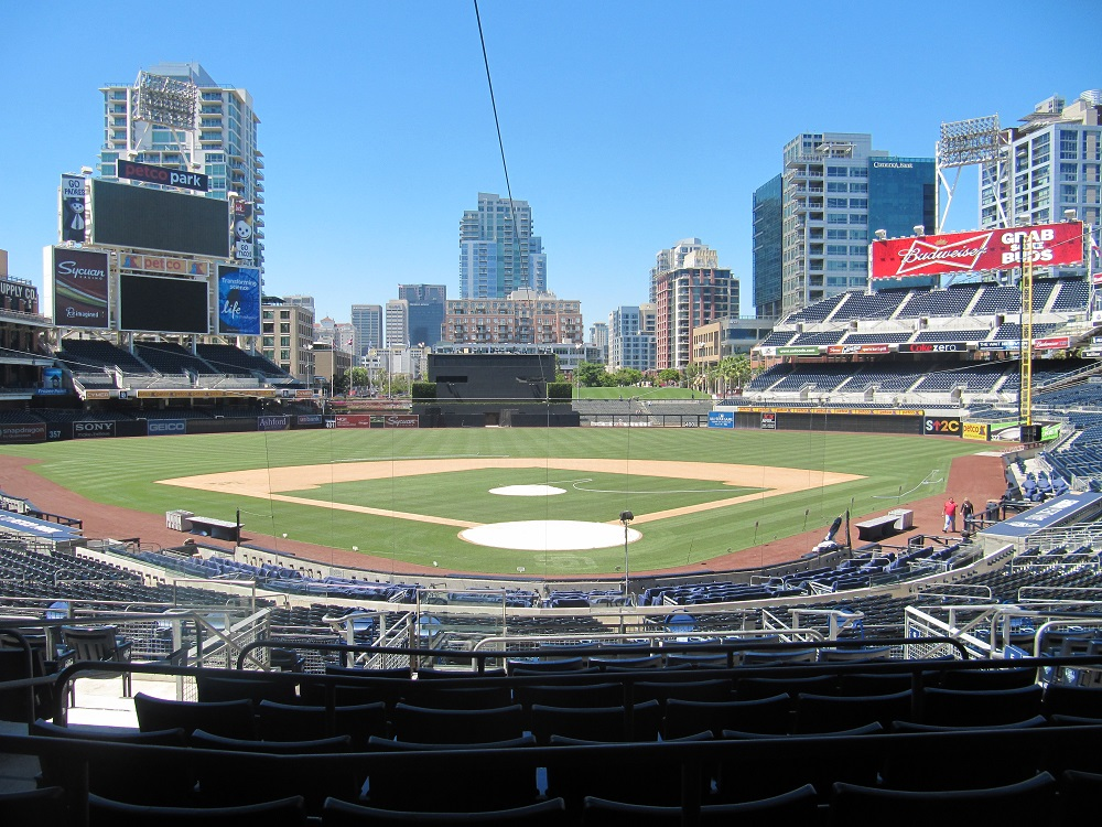 Best Seats For San Diego Padres At Petco Park