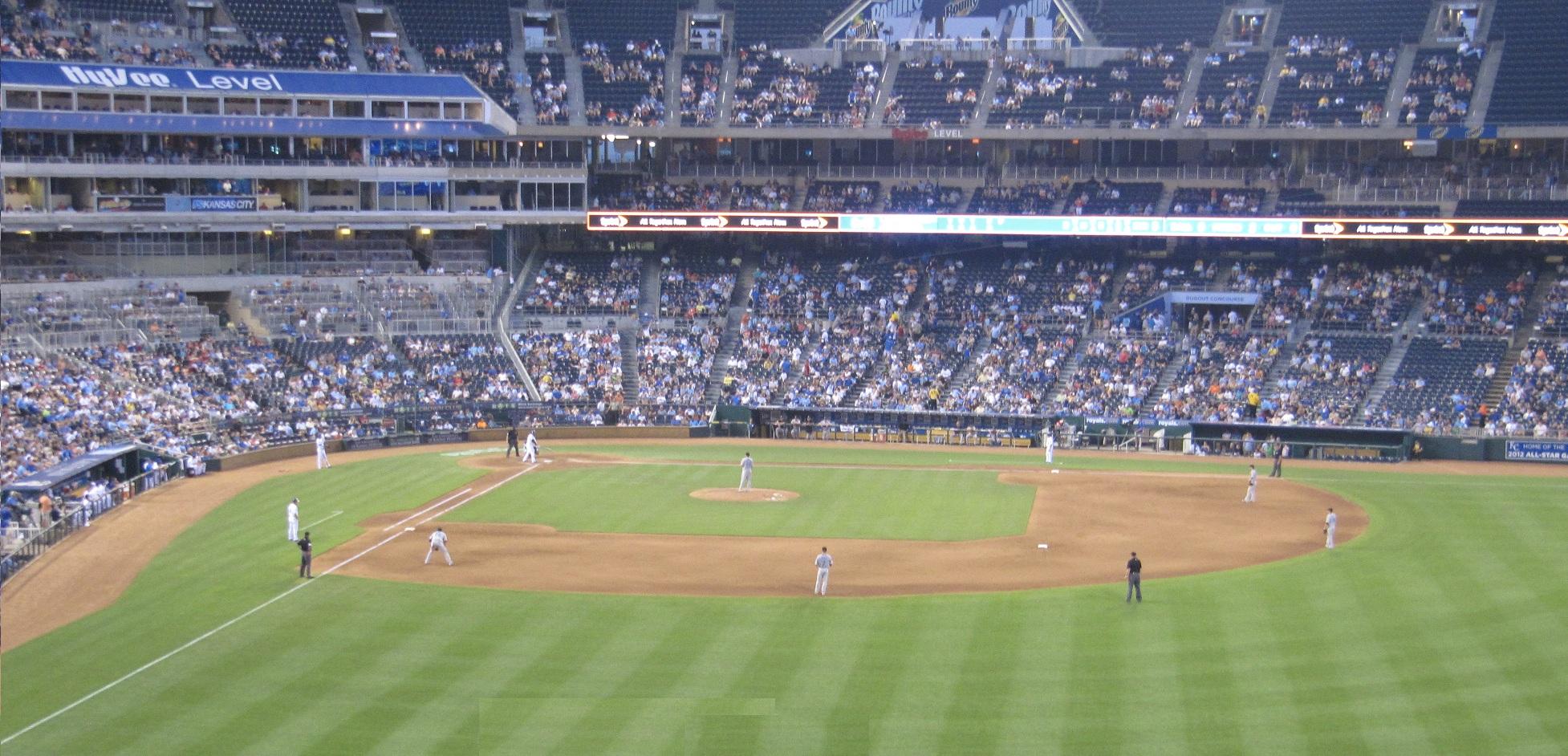 Best Seats Kansas City Royals At Kauffman Stadium 2016 Alcs And