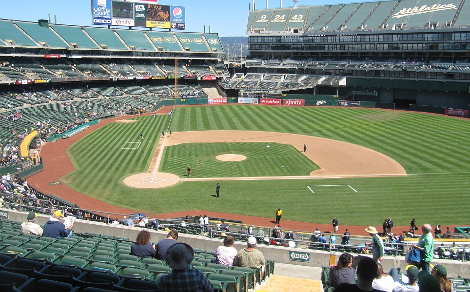 Best Seats For Oakland As At Oco Coliseum