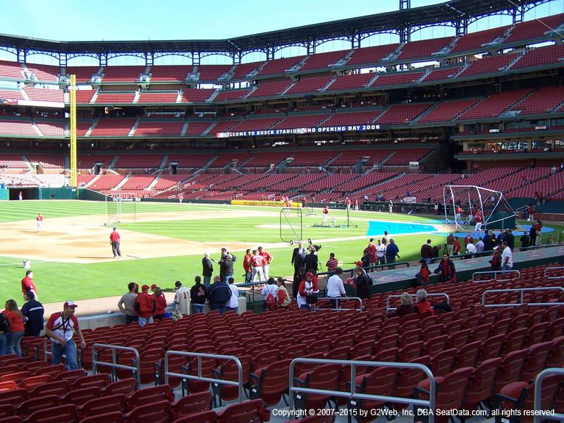 St Louis Cardinals Seating Best Seats At Busch Stadium 2019