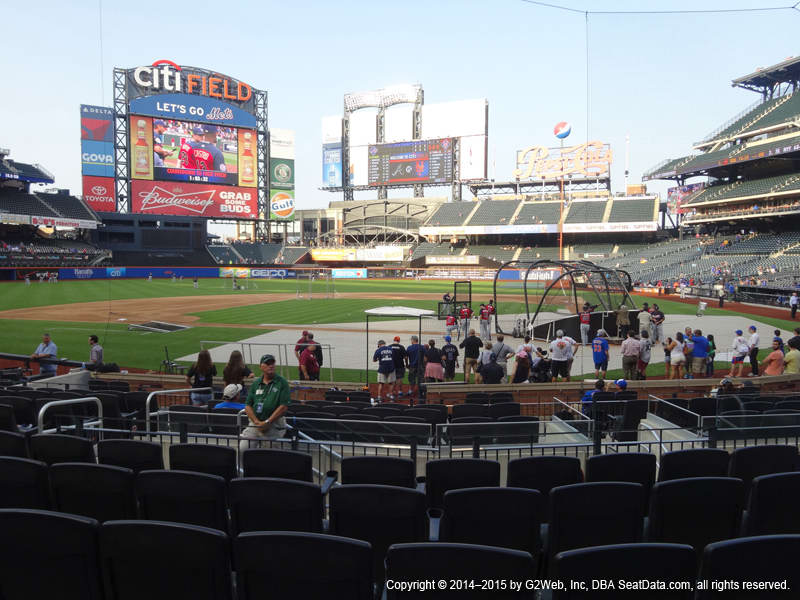 Citi Field Section 17 view