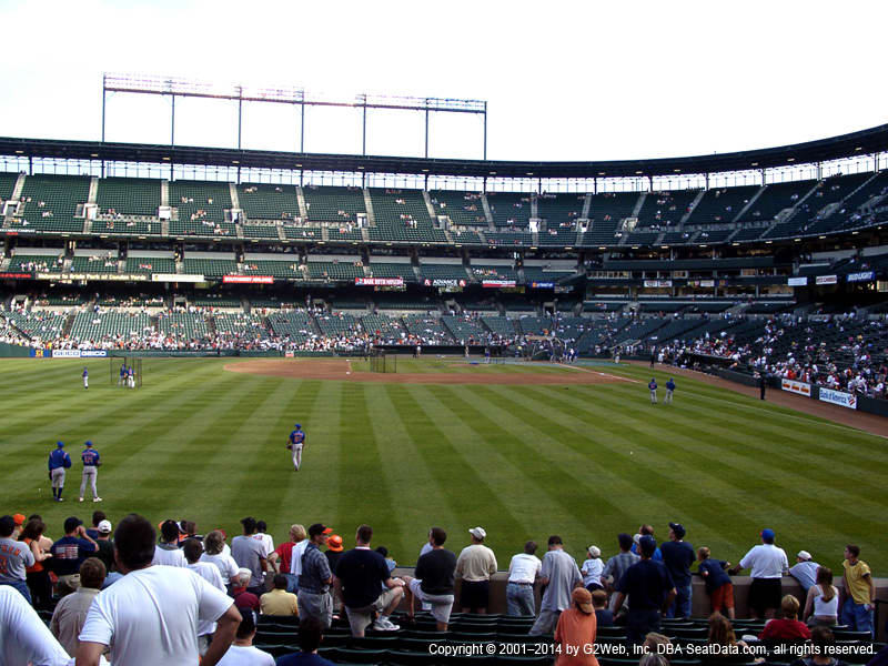 Camden Yards Section 60 View
