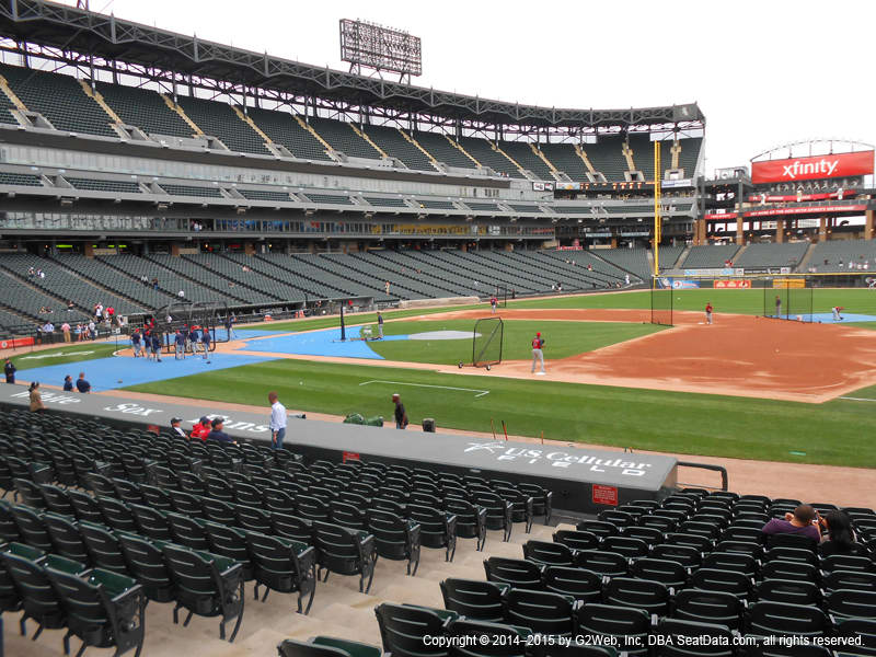 Guaranteed Rate Field Section 121 View
