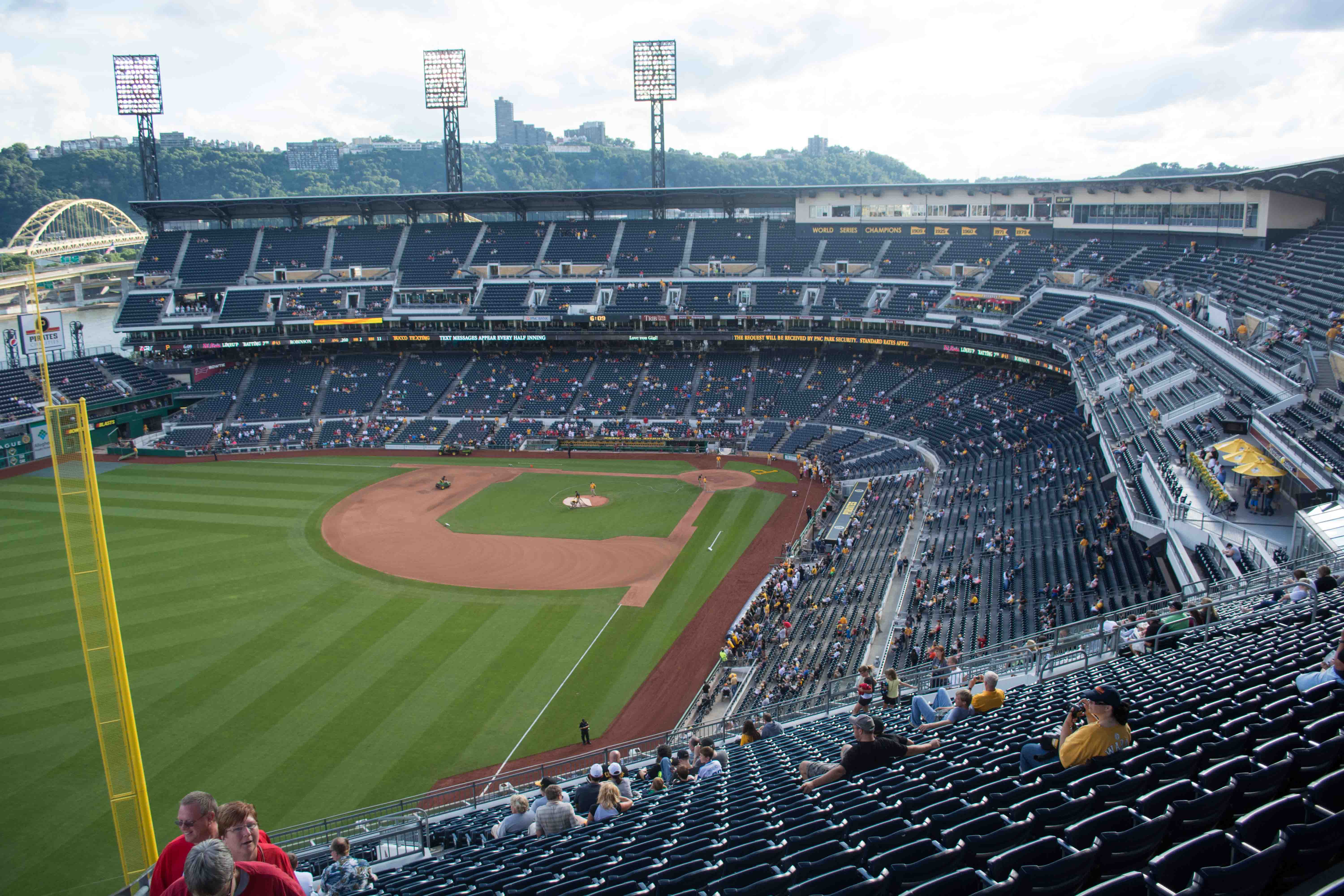 Best Seats For Pittsburgh Pirates At PNC Park - Pnc park map seating