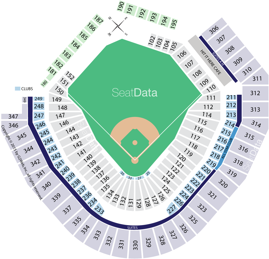 t mobile park seating chart
