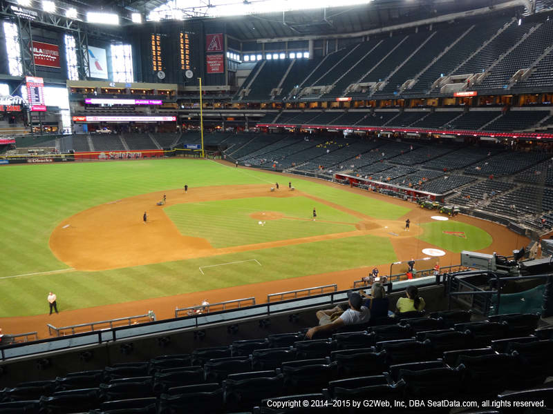 Arizona Diamondbacks Seating Best